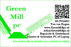 GreenMill pc
